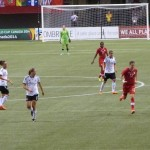 Game Between Germany & Canada Women's FIFA