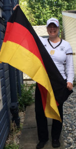 Side German Flag