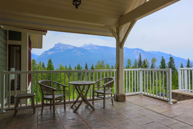 Slocan Valley View from House for Sale