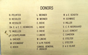 Klaue & other donors from Vancouver, BC