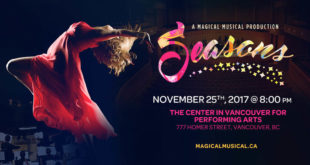 Seasons a Magical Musical Flyer