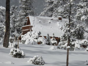 Spring Valley Ranch in Snow