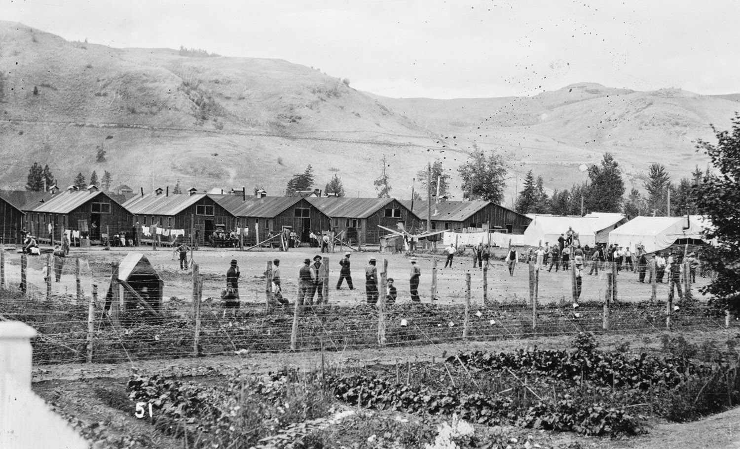 Vernon Internment Camp restored