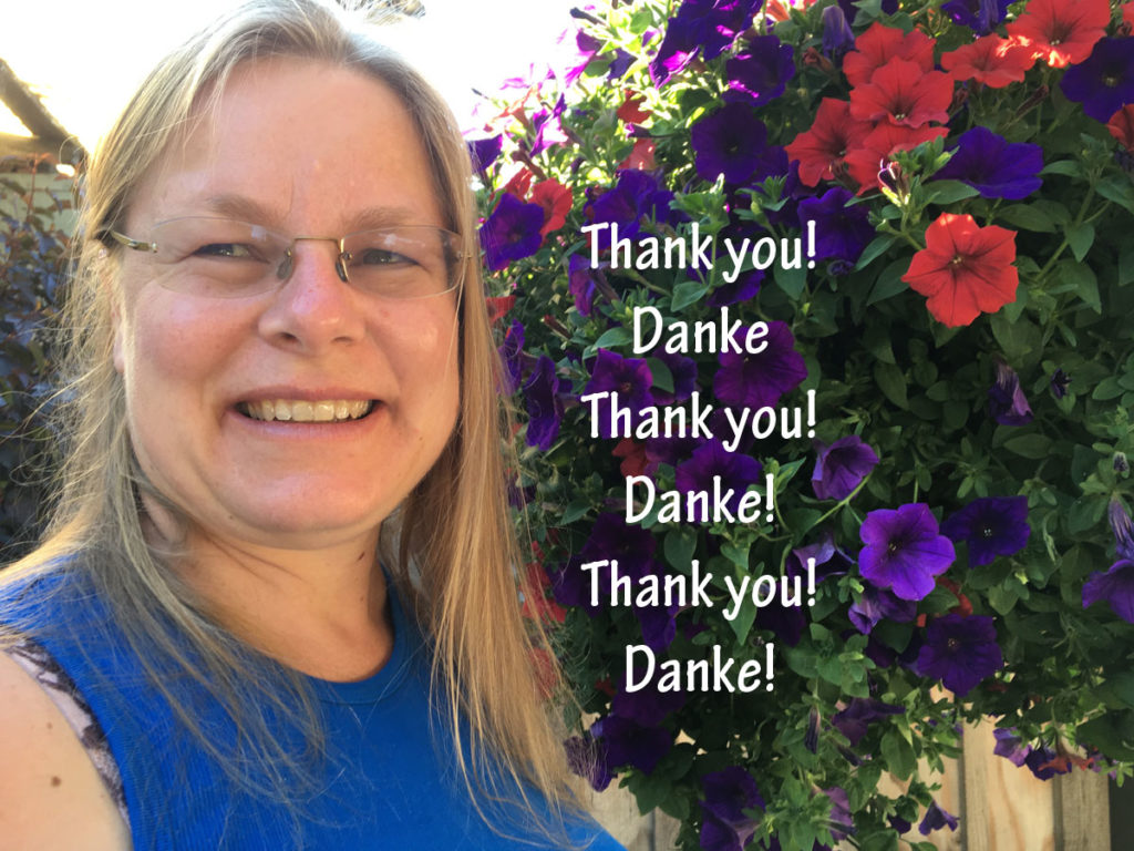 Elke says Thank You!