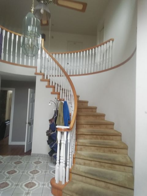 Staircase + Burnaby Rental