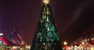 Christmas Market Tree