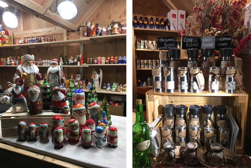 Russian nested dolls and Bowen Island Spice Company