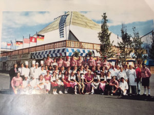 German Booth at Expo '86