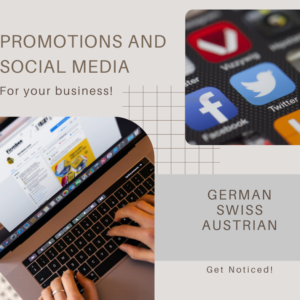 Promotions and social media