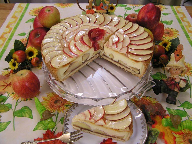 Koenigsberger Apfelkuchen
